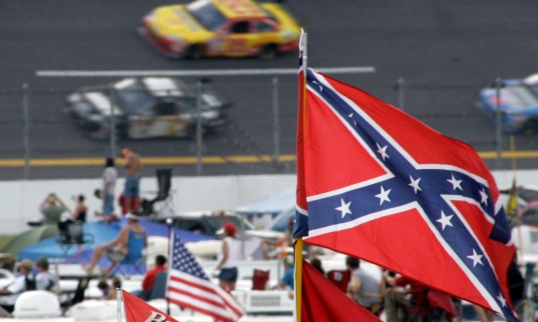AP CONFEDERATE FLAG NASCAR AUTO RACING S A CAR FILE USA AL
