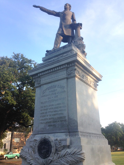 New Orleans Monuments On Public Property
