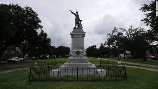 Jefferson Davis Statue New Orleans
