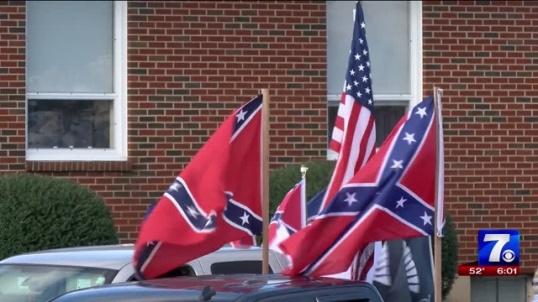 Staunton-River-High-School-students-protest-flag-ban
