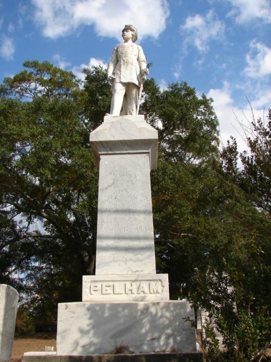 Pelham statue cemetery