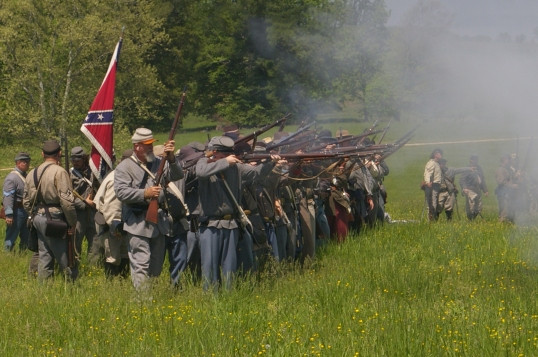 BattleOfChancellorsvilleReenactment