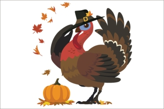 thanksgiving-turkey-with-pilgrim-hat_503440