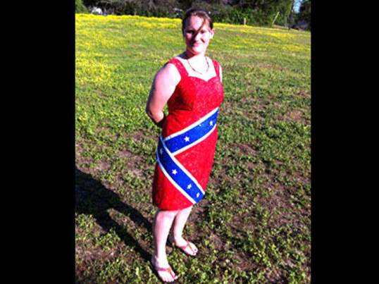confederateflagdress