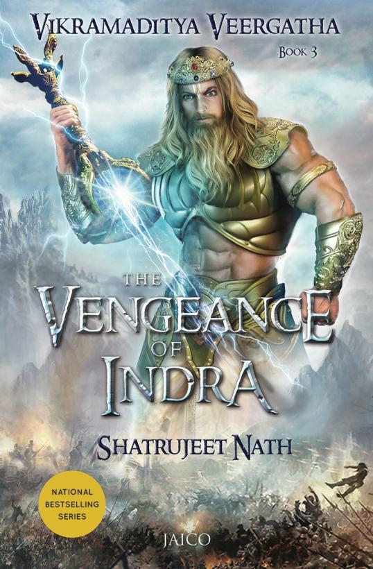 Vikramaditya 3 - Vengence of Indra_Front Cover