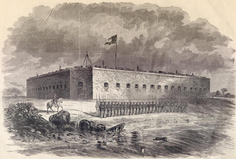 Fort_Pulaski_Civil_War