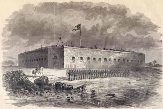 Fort_Pulaski_Civil_War