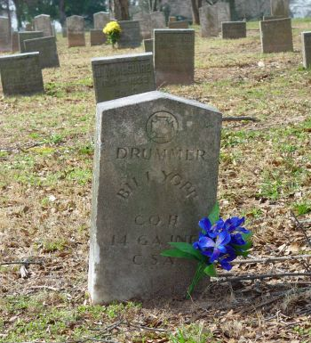 Bill's grave
