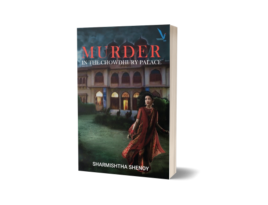 Murder in the Chowdhury Palace Cover copy